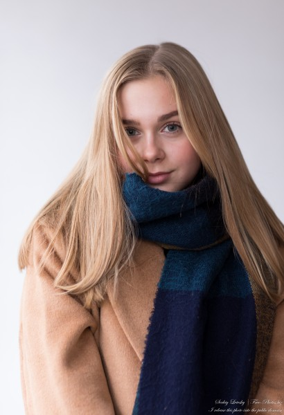 Emilia - a 15-year-old natural blonde Catholic girl photographed in November 2020 by Serhiy Lvivsky, picture 11