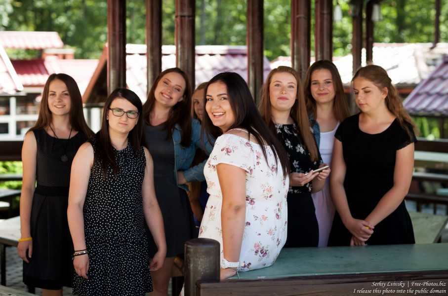 girls-animators at Catholic recollections in Poland in July 2017 photographed by Serhiy Lvivsky, picture 2