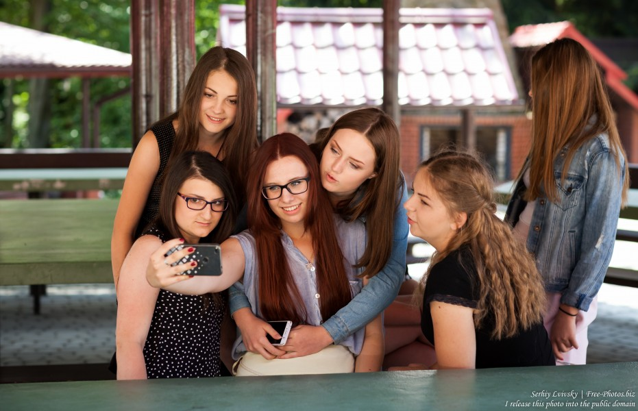 girls-animators at Catholic recollections in Poland in July 2017 photographed by Serhiy Lvivsky, picture 4