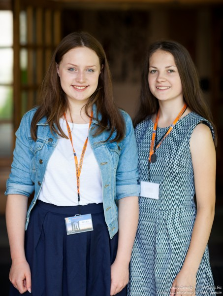 girls-animators at Catholic recollections in Poland in July 2017 photographed by Serhiy Lvivsky, picture 5