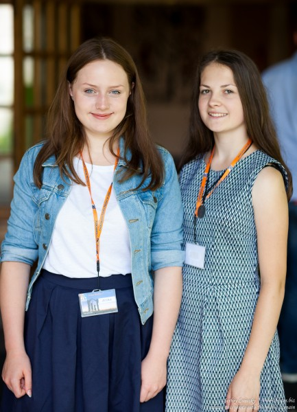 girls-animators at Catholic recollections in Poland in July 2017 photographed by Serhiy Lvivsky, picture 6