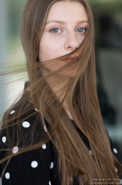 Inna - an 18-year-old natural fair-haired girl photographed in July 2020 by Serhiy Lvivsky, picture 17