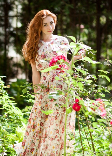 Ira - a girl with natural red hair photographed by Serhiy Lvivsky in July 2017, picture 5