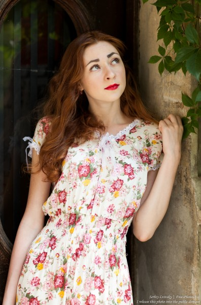 Ira - a girl with natural red hair photographed by Serhiy Lvivsky in July 2017, picture 6