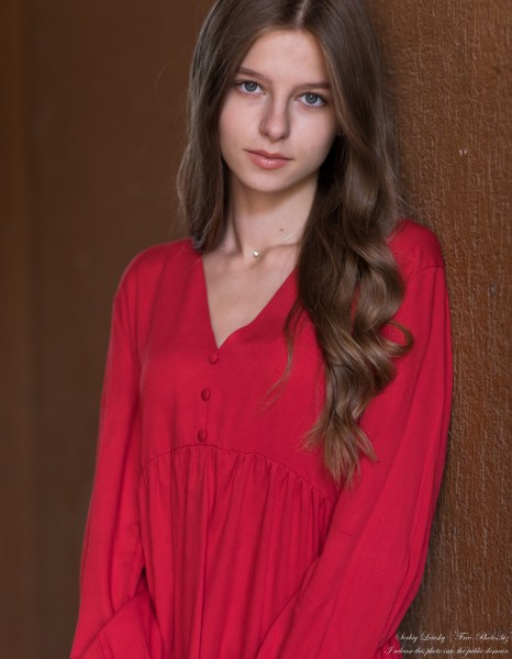 Juliana - a 17-year-old fair-haired creation of God photographed by Serhiy Lvivsky in September 2020, picture 25