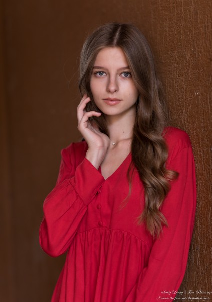 Juliana - a 17-year-old fair-haired creation of God photographed by Serhiy Lvivsky in September 2020, picture 26