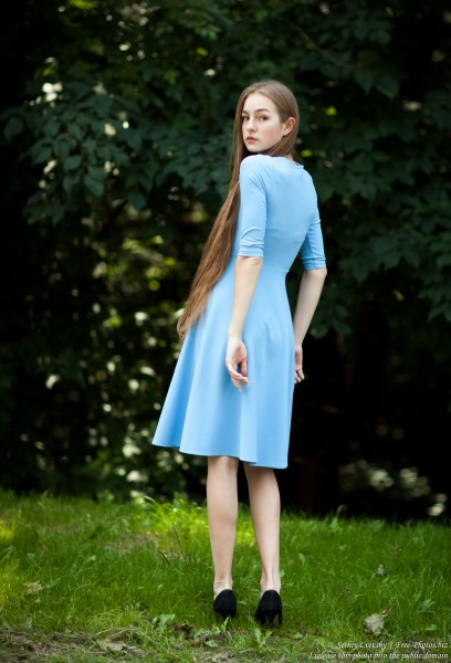 Justyna - a 16-year-old fair-haired girl photographed in June 2018 by Serhiy Lvivsky, picture 15