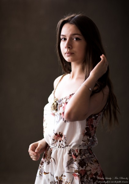 Lida - a 21-year-old girl photographed by Serhiy Lvivsky in June 2020, photograph 6