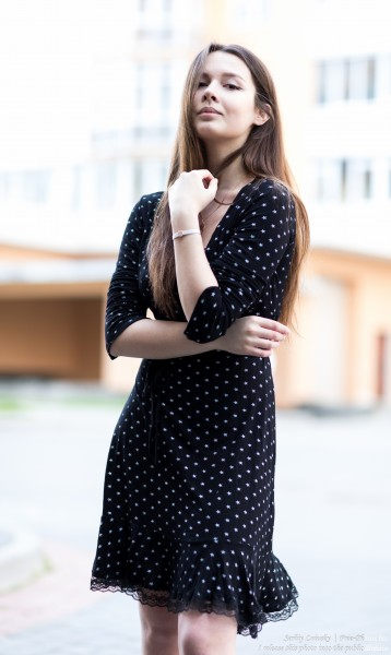 Lida - a 21-year-old girl photographed in June 2020 by Serhiy Lvivsky, portrait 2