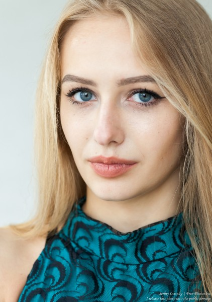 Lila - a 15-year-old natural blonde girl photographed in May 2017 by Serhiy Lvivsky, picture 10