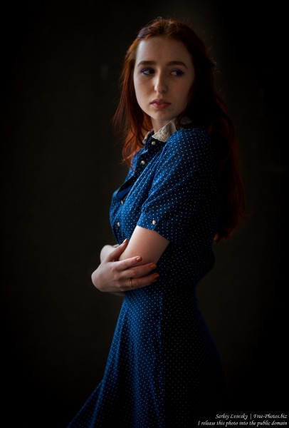 Lisa - a 19-year-old girl with natural red hair photographed in June 2017 by Serhiy Lvivsky, picture 2