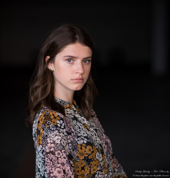 Marta - a 16-year-old girl photographed in June 2020 by Serhiy Lvivsky, portrait 9