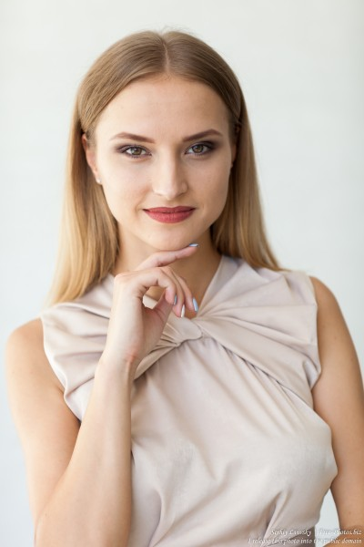 Marta - a 21-year-old natural blonde Catholic girl photographed by Serhiy Lvivsky in August 2017, picture 19