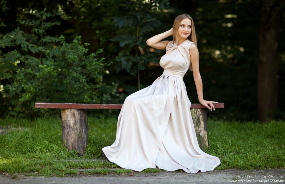 Marta - a 21-year-old natural blonde Catholic girl photographed by Serhiy Lvivsky in August 2017, picture 33