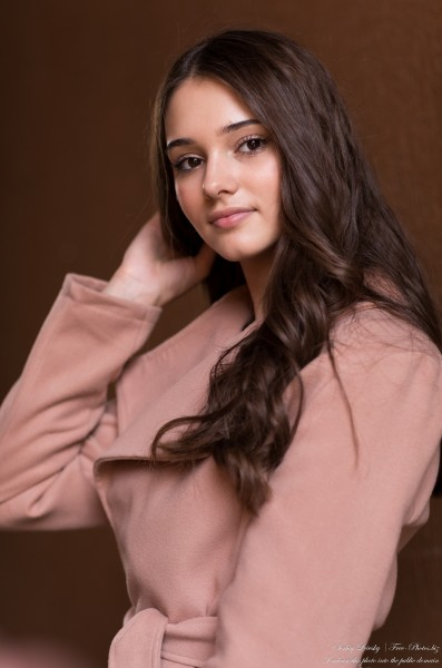 Tania - a 15-year-old girl photographed in October 2020 by Serhiy Lvivsky, picture 37