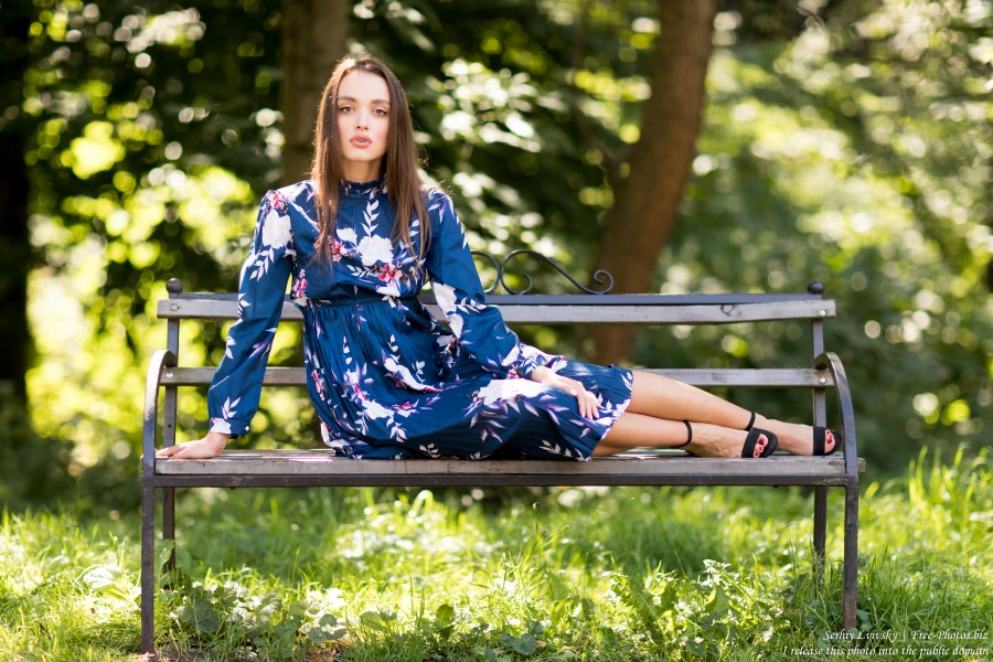 Tonya - a 23-year-old brunette girl photographed in August 2019 by Serhiy Lvivsky, picture 21
