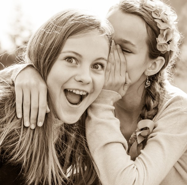 two beautiful Catholic girls photographed in October 2014, picture 4, black and white