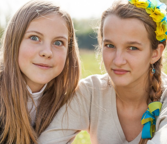 two beautiful Catholic girls photographed in October 2014, picture 5