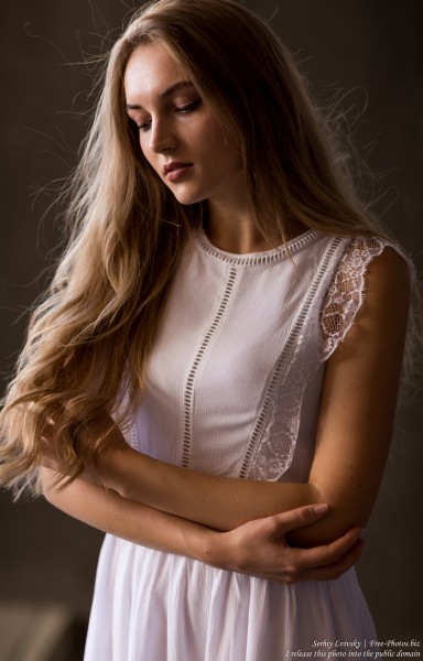 Yaryna - a 21-year-old natural blonde Catholic girl photographed in August 2019 by Serhiy Lvivsky, picture 20