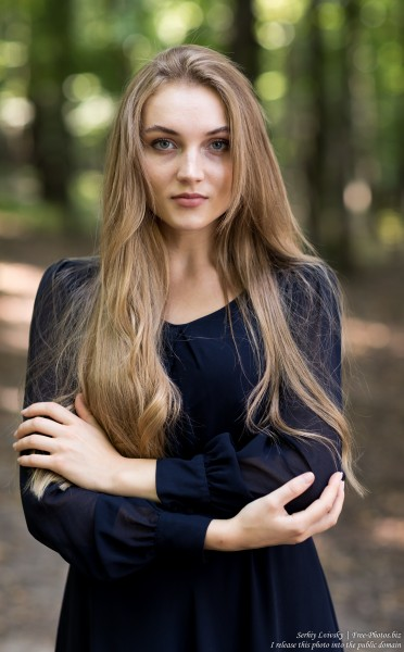 Yaryna - a 21-year-old natural blonde Catholic girl photographed in August 2019 by Serhiy Lvivsky, picture 35