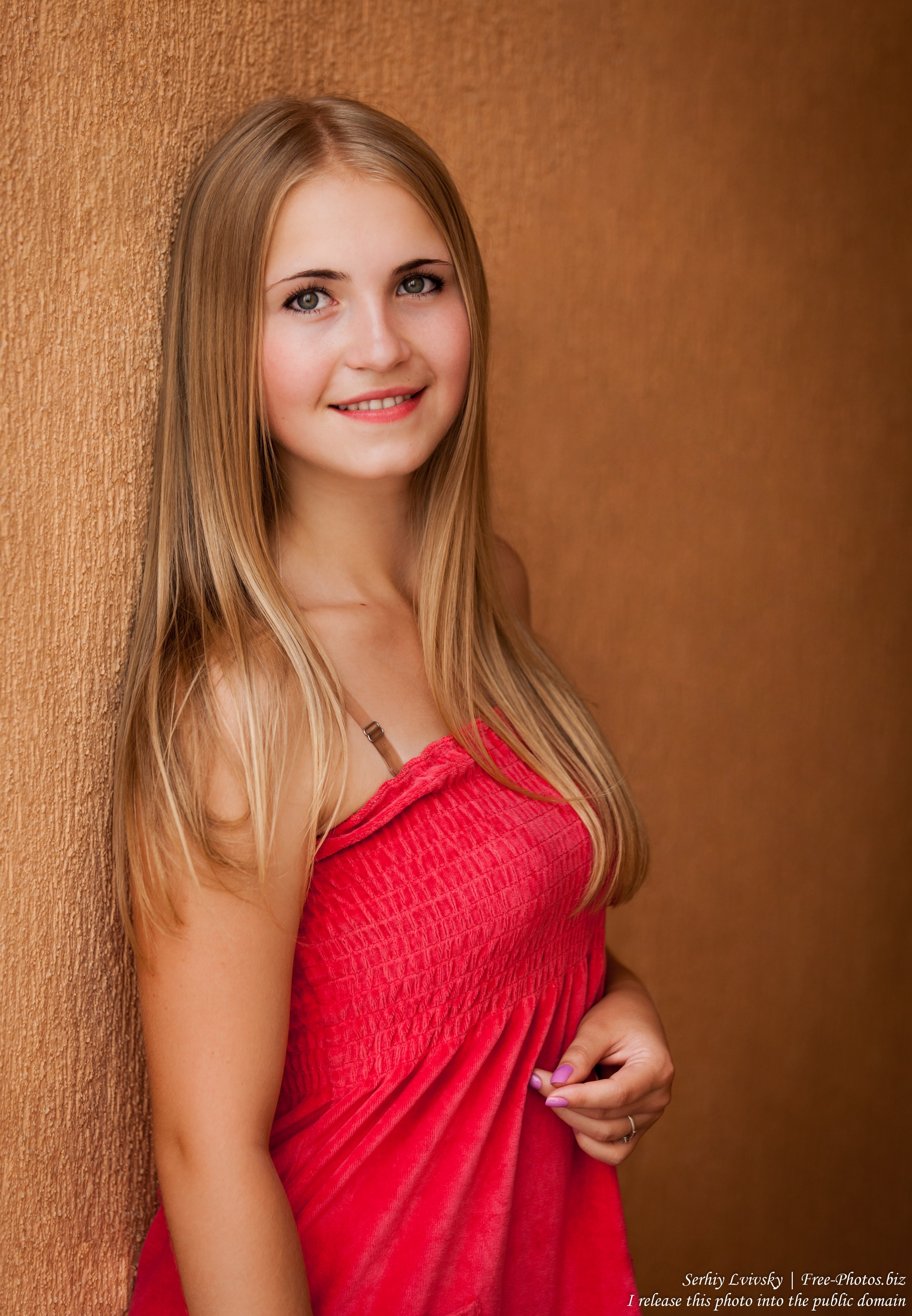 a Catholic 19-year-old natural blond girl photographed in August 2015 by Serhiy Lvivsky, picture 31