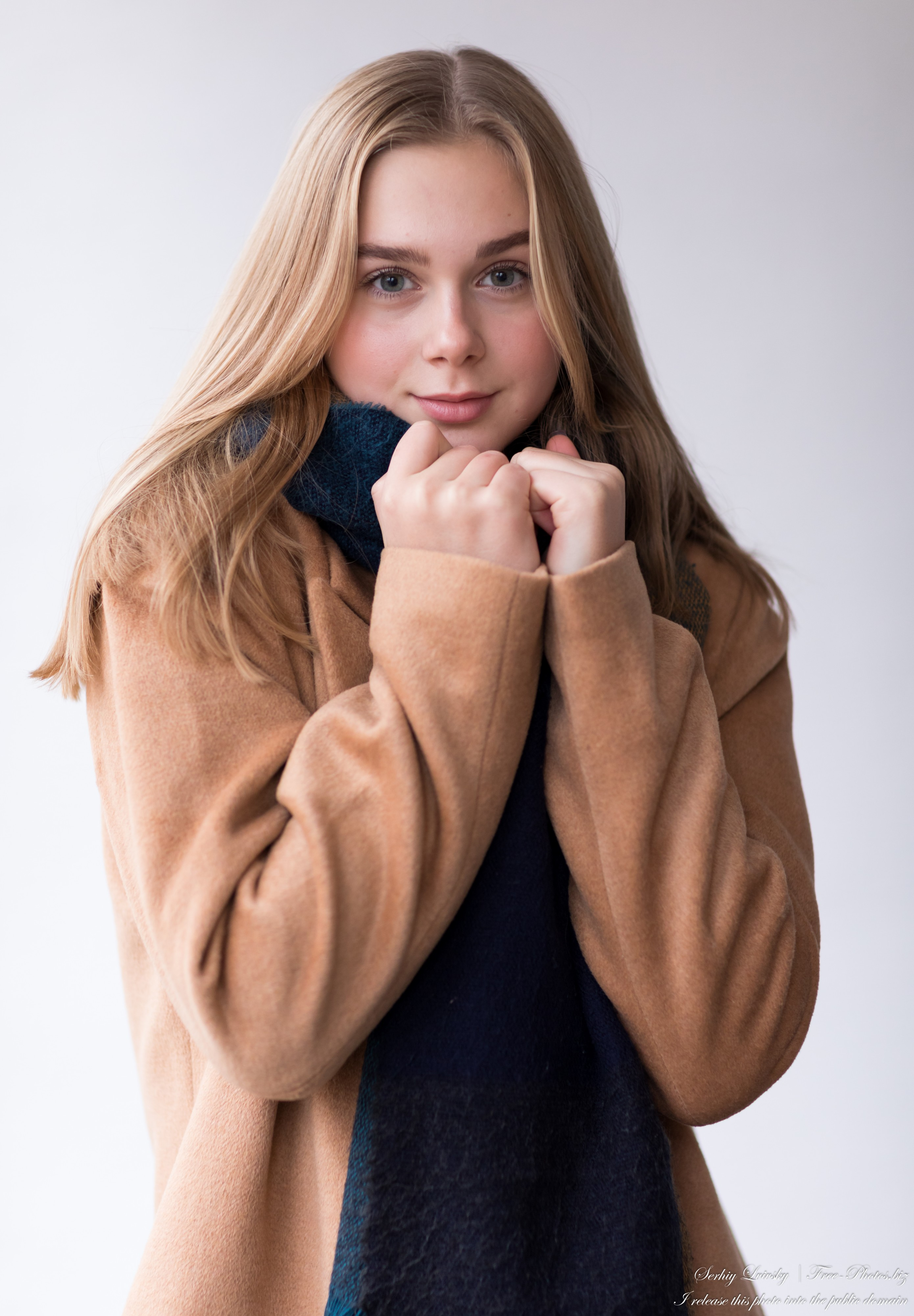 Emilia - a 15-year-old natural blonde Catholic girl photographed in November 2020 by Serhiy Lvivsky, picture 9