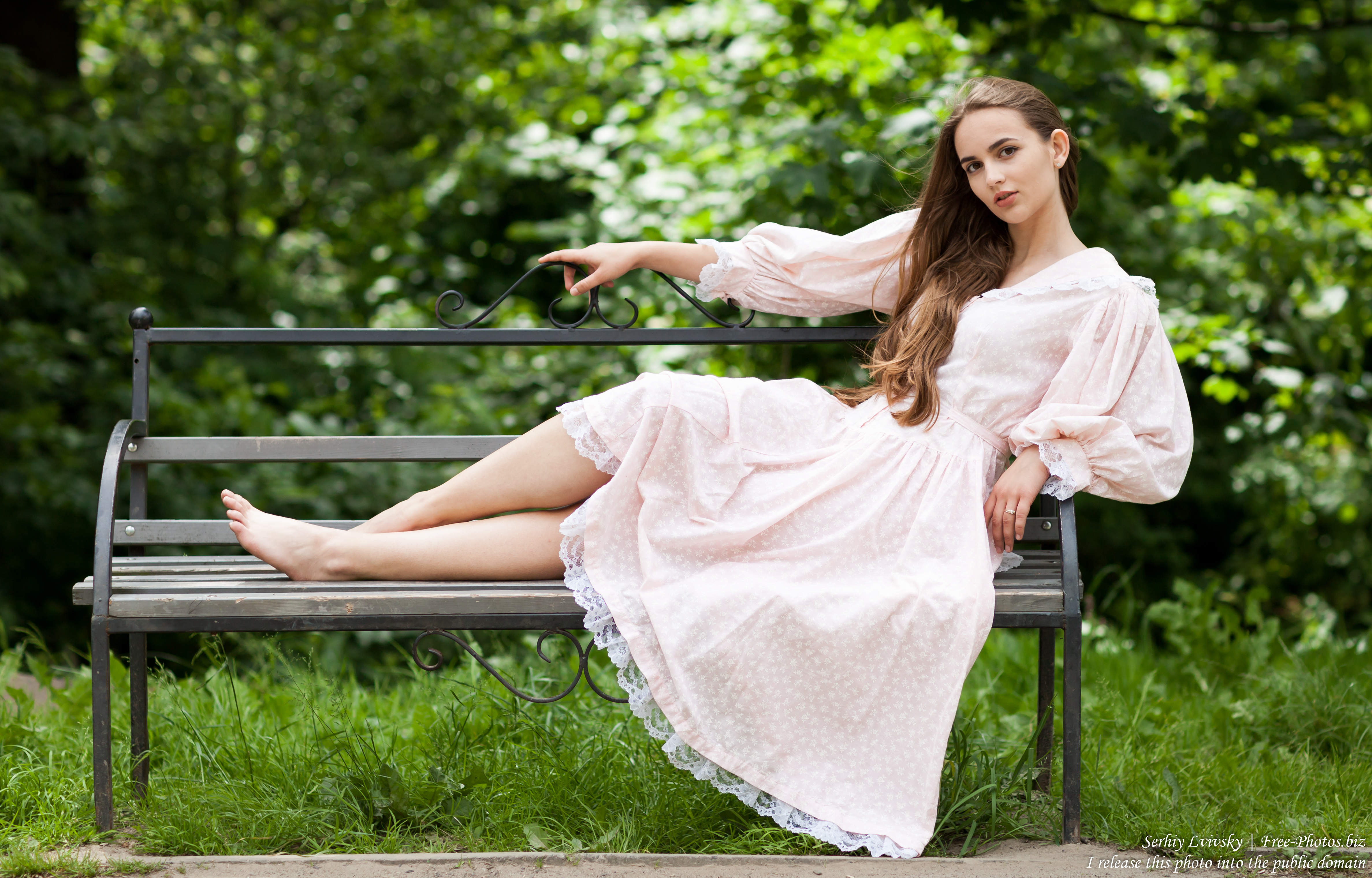 Vika - a 19-year-old girl with natural fair hair photographed in June 2017 by Serhiy Lvivsky, picture 29