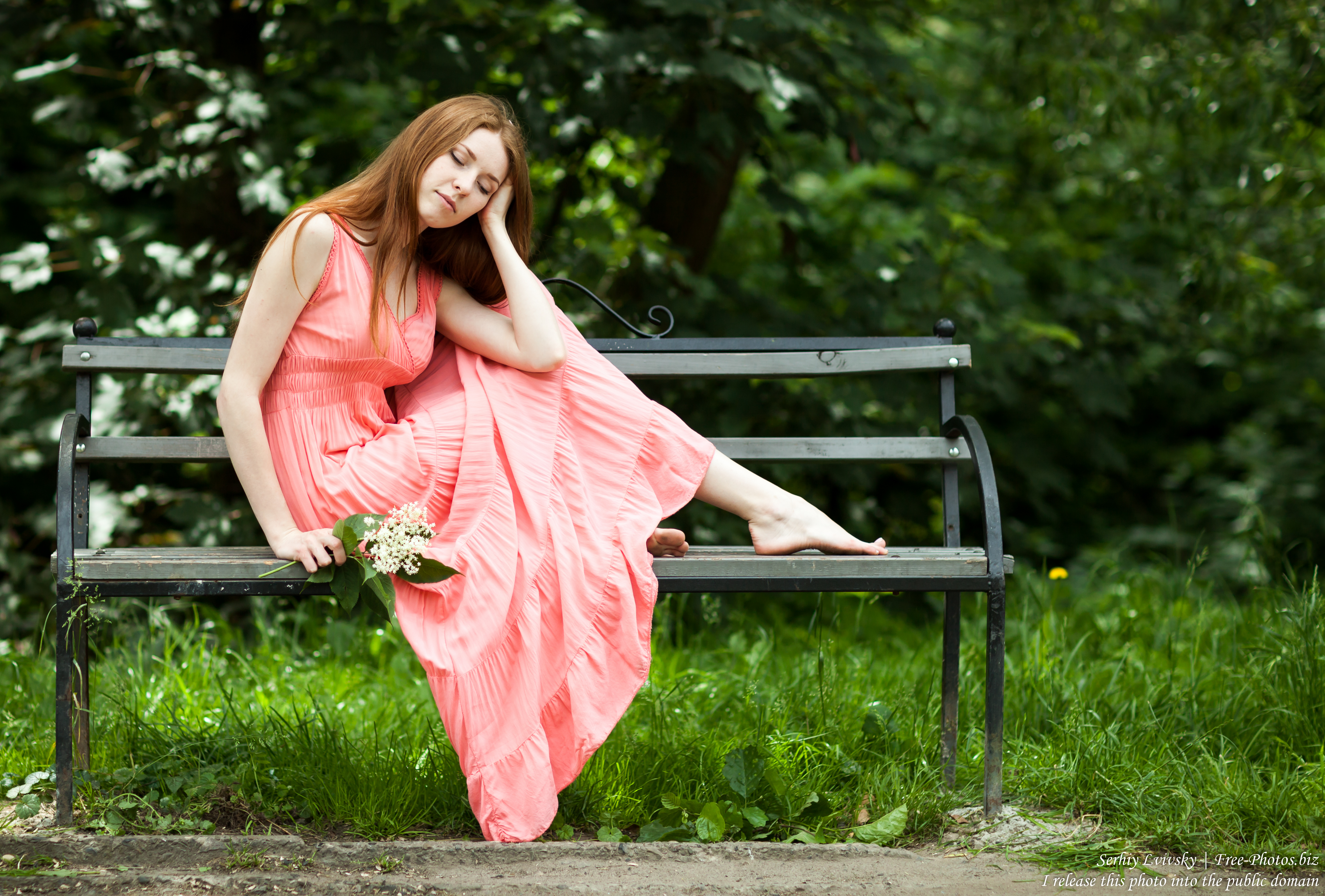 Yana - a 23-year-old girl with natural red hair photographed in June 2017 by Serhiy Lvivsky, picture 12