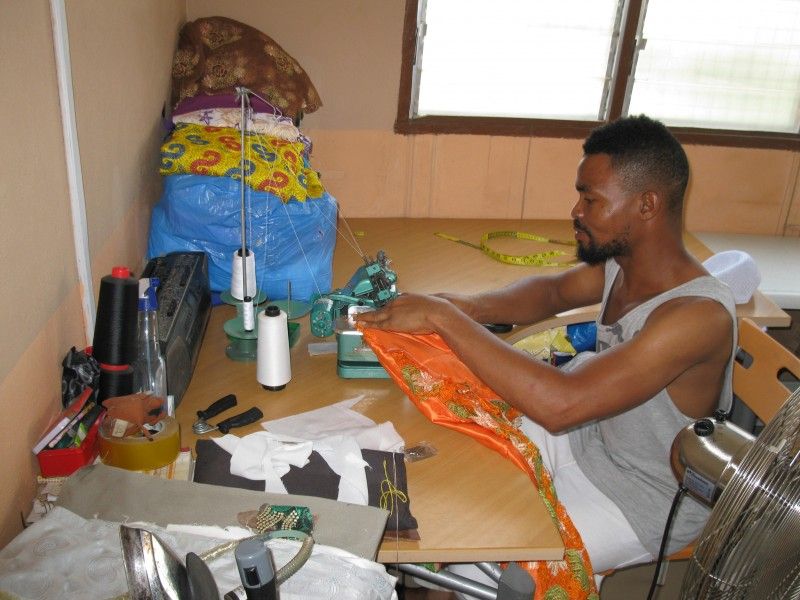 A Ghanaian Fashion Designer