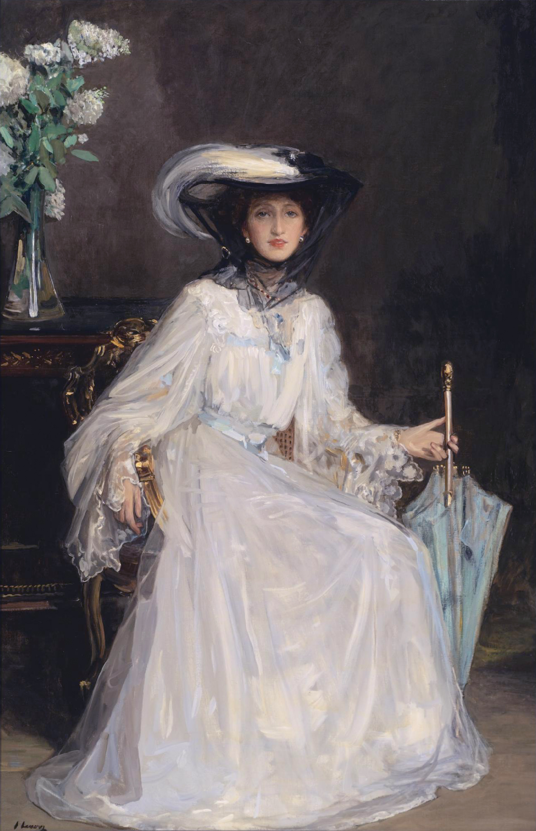 Evelyn Farquhar by John Lavery
