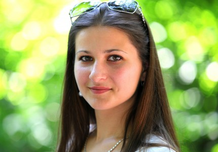 a headshot of a marvelously beautiful Catholic girl photographed in July 2013, picture 22/22