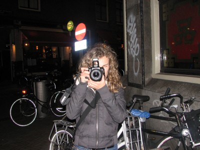 A girl in Amsterdam, April 2012, The Netherlands, Europe, picture 2