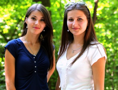 two stunningly beautiful Catholic sisters photographed in July 2013