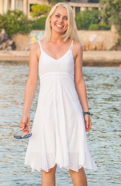 a beautiful Catholic girl photographed in Europe in July 2014, picture 43