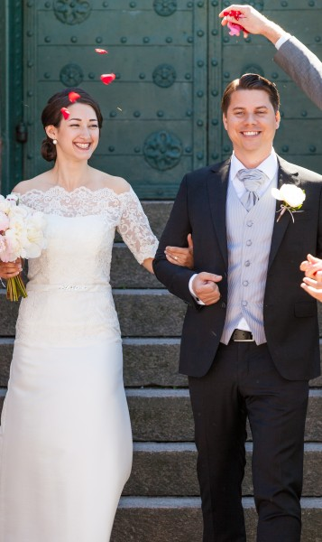 a wedding in Gothenburg, Sweden in June 2014, picture 2/6