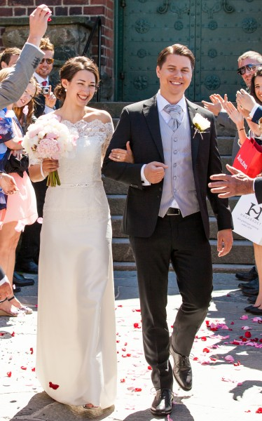 a wedding in Gothenburg, Sweden in June 2014, picture 3/6