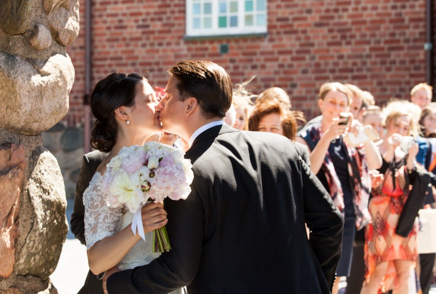a wedding in Gothenburg, Sweden in June 2014, picture 4/6