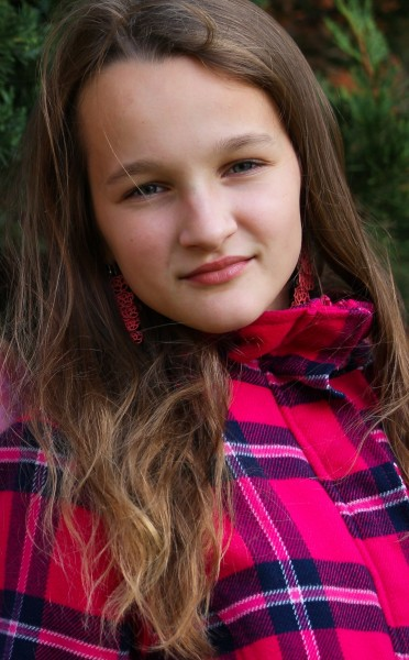an astonishingly beautiful young Catholic girl photographed in September 2013, picture 13/34