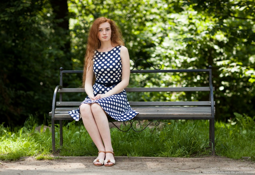 Ania - a 19-year-old natural red-haired girl photographed in June 2017 by Serhiy Lvivsky, picture 24