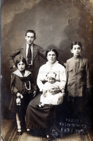 Palagini Family on 1916 or 1917
