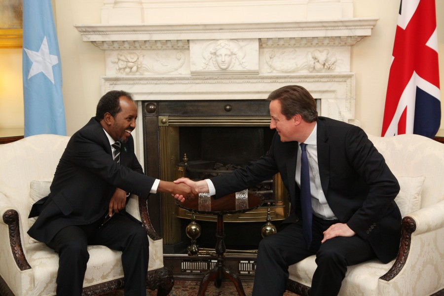 Prime Minister with President of the Federal Republic of Somalia (8444381781)