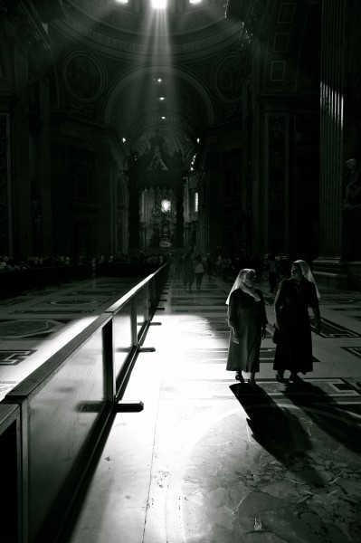 Sisters in the St. Peters Basilica (5939081153)