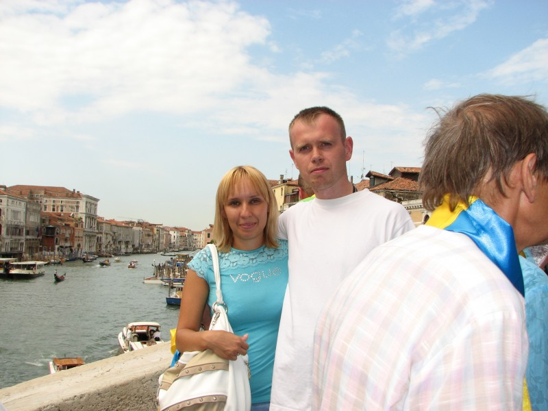 People in Venice, Italy, European Union, August 2011, picture 9