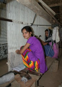 Carpet makers, near Jaipur, Rajasthan, India