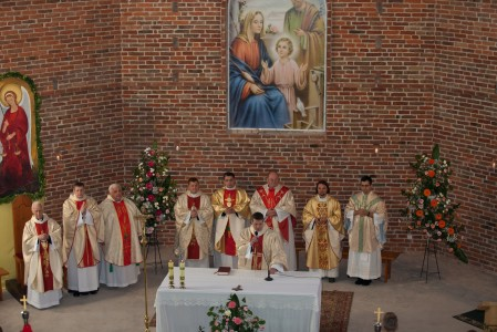 a Holy Mass in a church in September 2014, picture 2