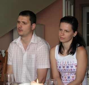 A young family at a meeting of Catholic married couples, picture 18