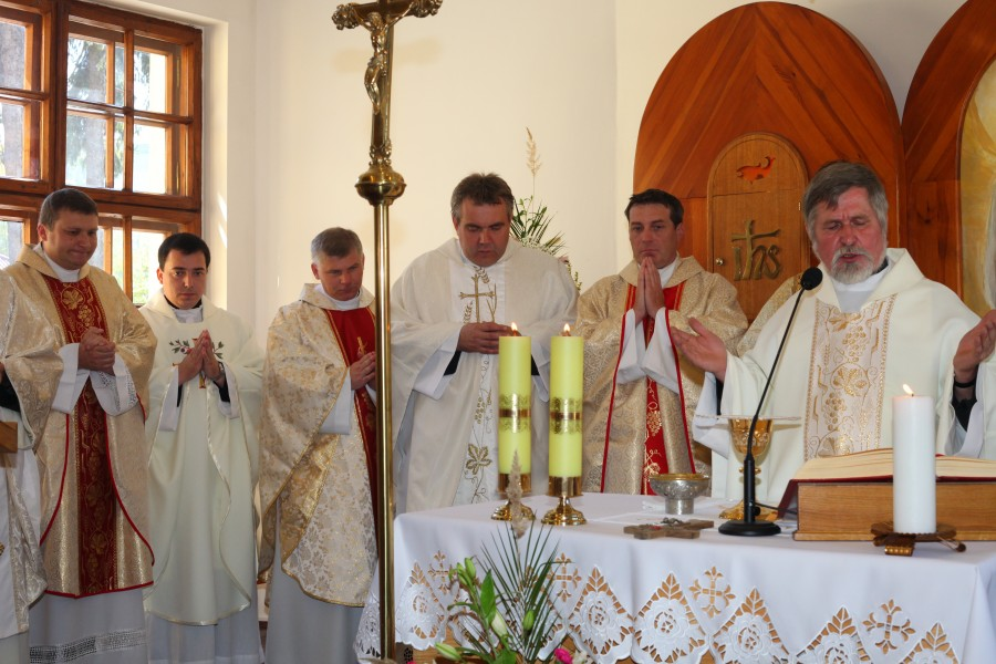 a Holy Mass during a holiday celebration, with many priests, photo 3