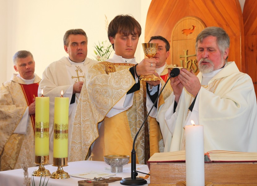 a Holy Mass during a holiday celebration, with many priests, photo 5
