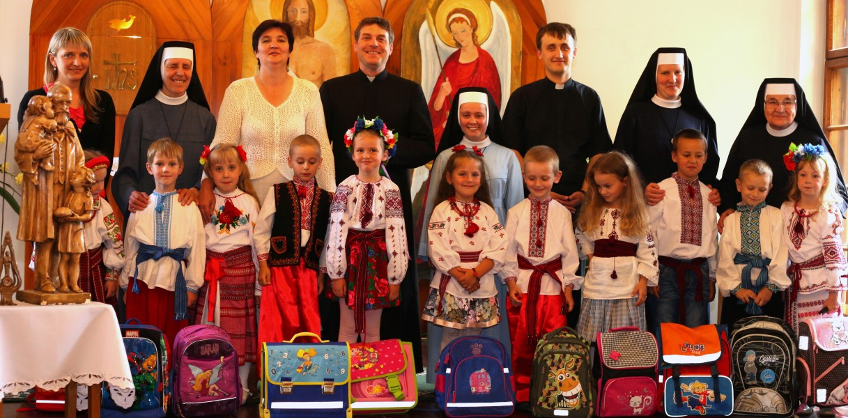 a graduation day in a Catholic kindergarten in June 2013