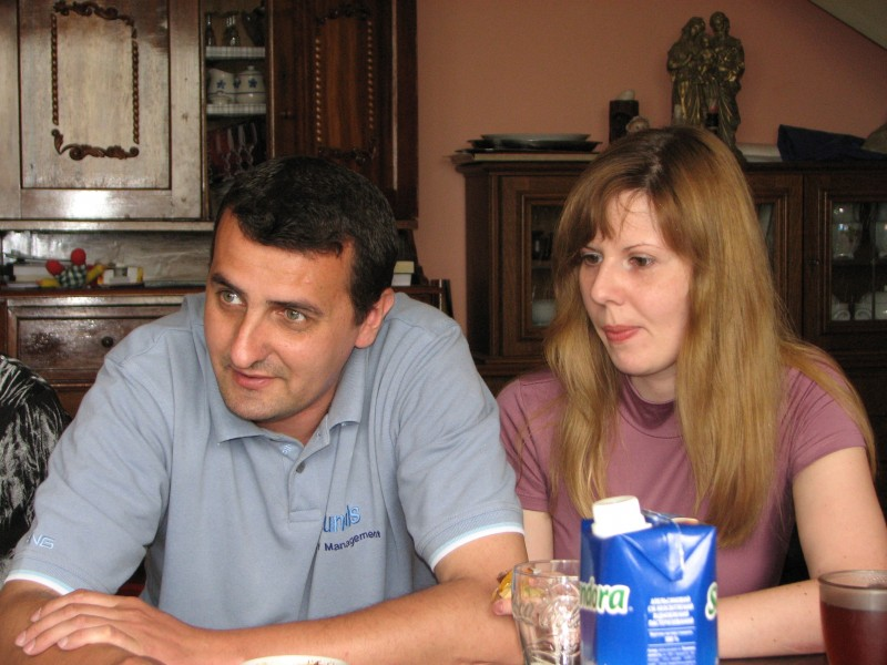 A young couple at a meeting of Catholic married couples, picture 5